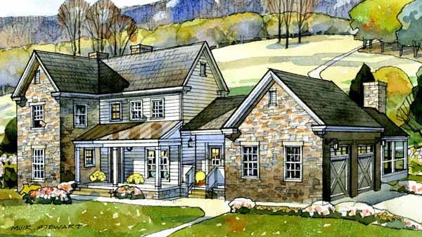 stone:cedar country home original